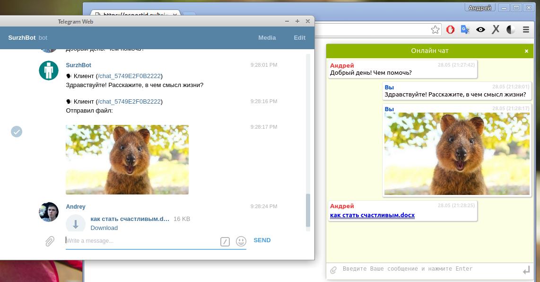 Telegram Site Helper 2.0 — чат помощник для сайта на основе Telegram - 1