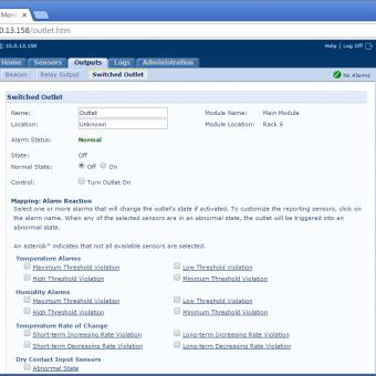 Сравнение систем мониторинга Vutlan SC8100 и APC NetBotz Rack Monitor 200 - 15
