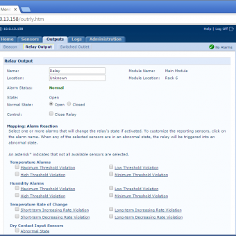 Сравнение систем мониторинга Vutlan SC8100 и APC NetBotz Rack Monitor 200 - 16