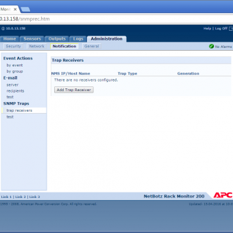 Сравнение систем мониторинга Vutlan SC8100 и APC NetBotz Rack Monitor 200 - 30