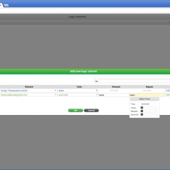 Сравнение систем мониторинга Vutlan SC8100 и APC NetBotz Rack Monitor 200 - 48