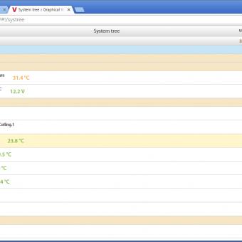 Сравнение систем мониторинга Vutlan SC8100 и APC NetBotz Rack Monitor 200 - 8
