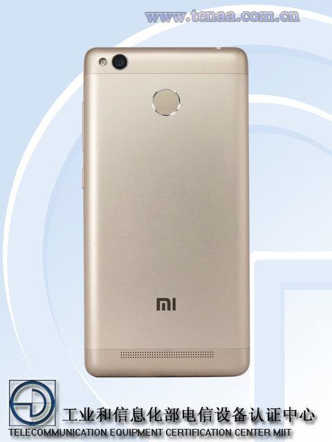 Стали известны характеристики преемника смартфона Xiaomi Redmi 3 Pro