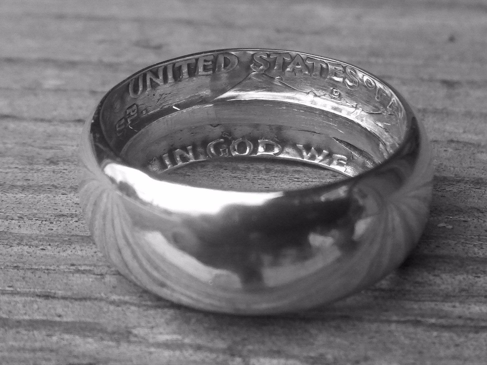 Делаем кольцо из обычной монеты - 7