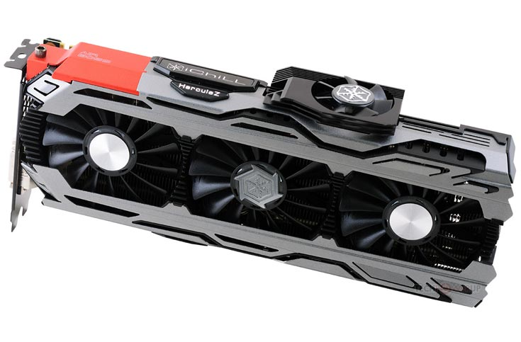 В серию Inno3D iChill GeForce GTX 1080 вошли 3D-карты с тремя и четырьмя вентиляторами