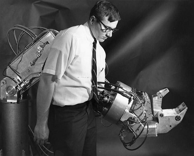 G.E. Hardiman — первый в мире экзоскелет из 60-х годов прошлого века - 2