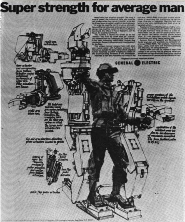 G.E. Hardiman — первый в мире экзоскелет из 60-х годов прошлого века - 5