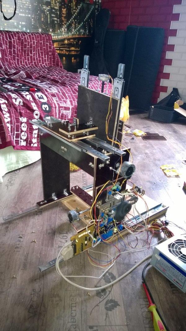 Делаем трехосевой фрезерный станок с число-программным управлением - 21