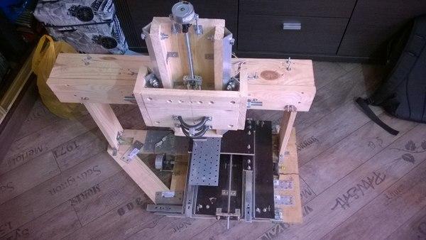 Делаем трехосевой фрезерный станок с число-программным управлением - 32