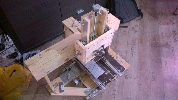 Делаем трехосевой фрезерный станок с число-программным управлением - 33