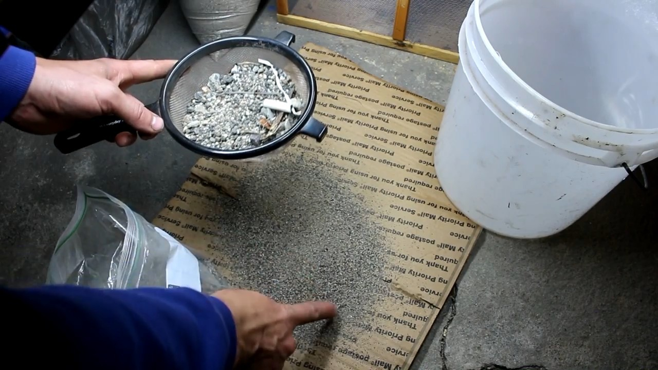 Добываем платину из дорожной пыли - 3