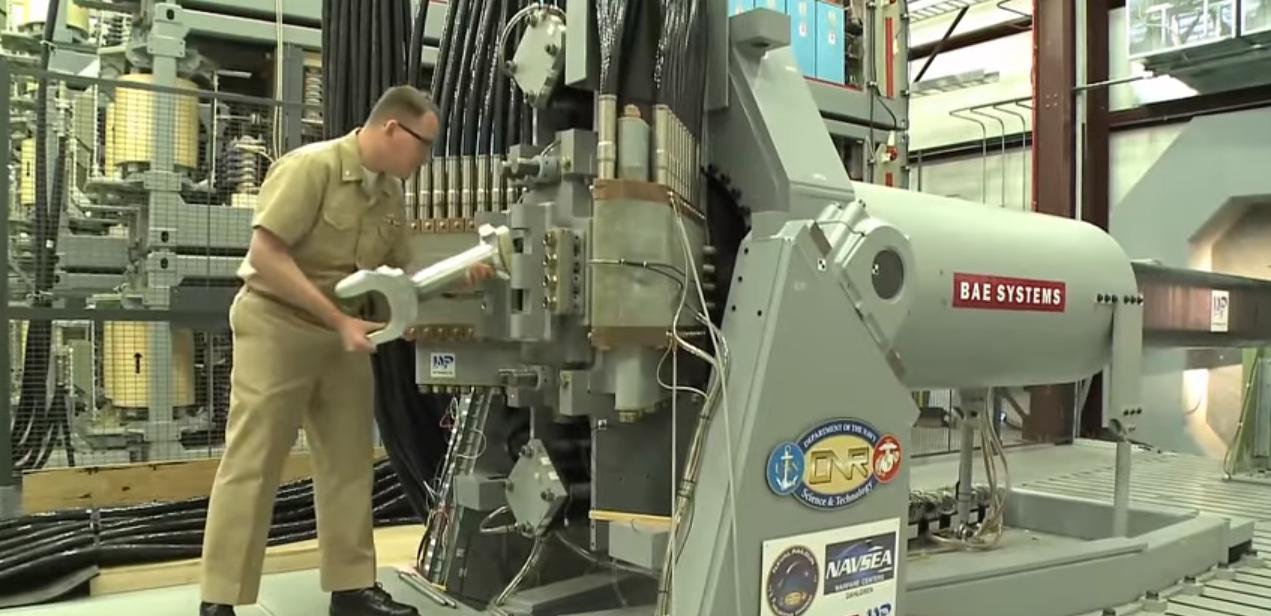 Этим летом США проведут морские испытания рельсотрона - 2