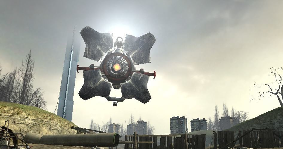 Городской сканер из Half-Life 2 стал реальностью - 1