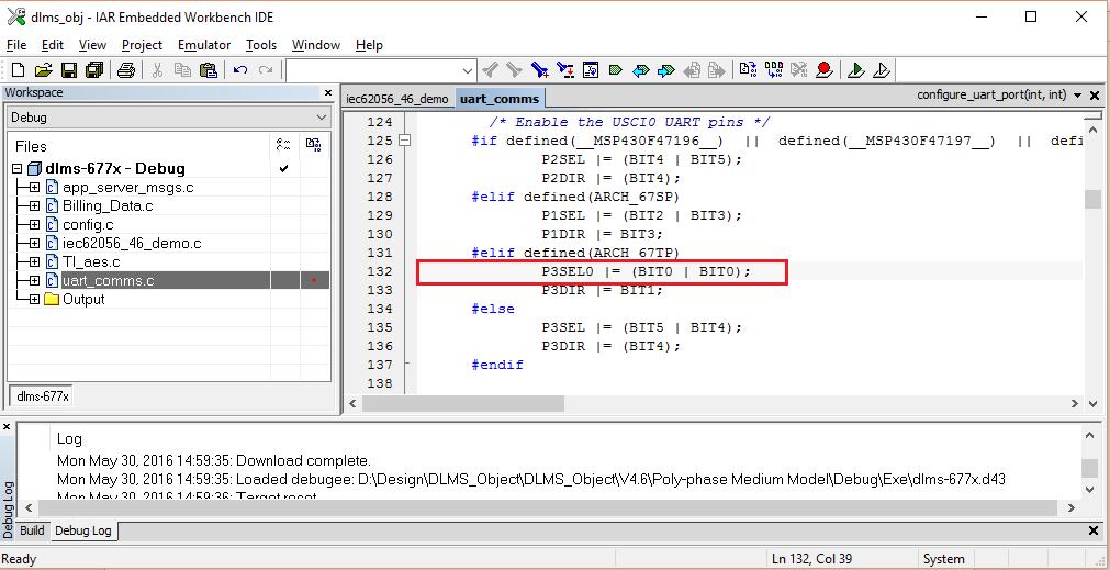 Знакомство со стеком DLMS-COSEM для микроконтроллеров семейства MSP430 компании Texas Instruments - 5