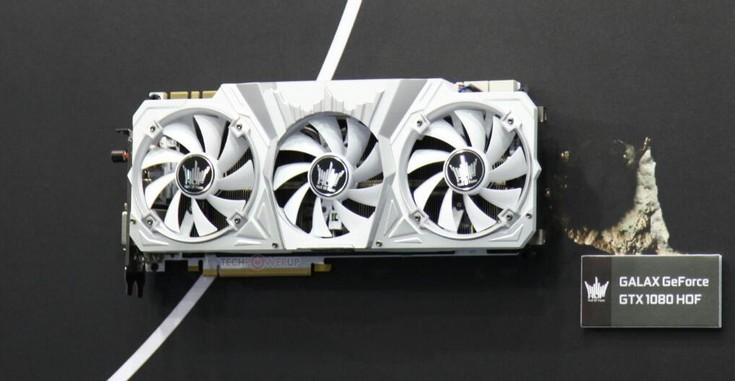 Galax готовит видеокарты GeForce GTX 1080 и GTX 1070 семейства HOF
