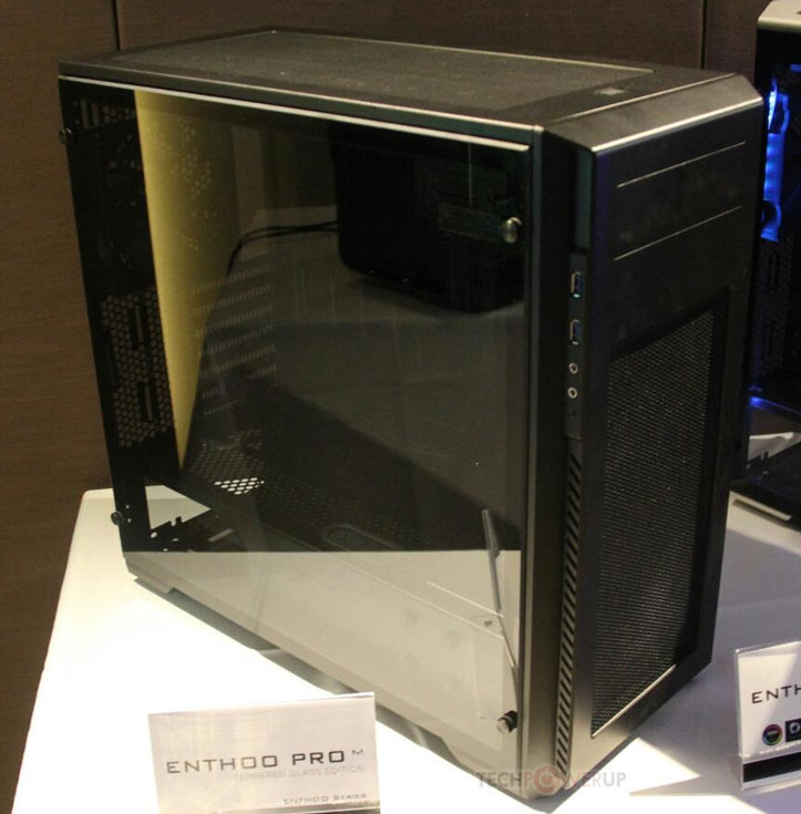 У модели Enthoo Evolv ATX Tempered Glass Edition есть ее одна особенность