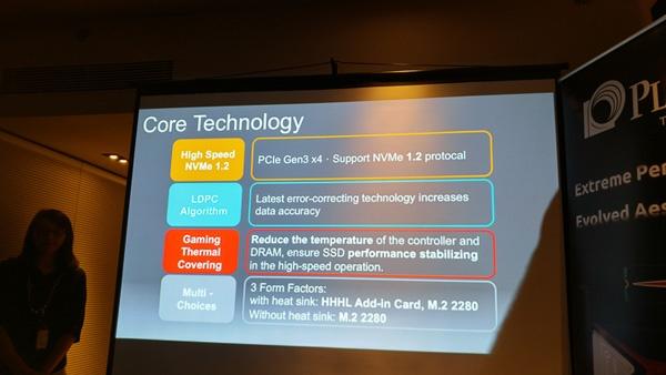 На Computex 2016 представлены SSD Plextor M8Pe с интерфейсом PCI Express и внешние SSD EX1 - 4