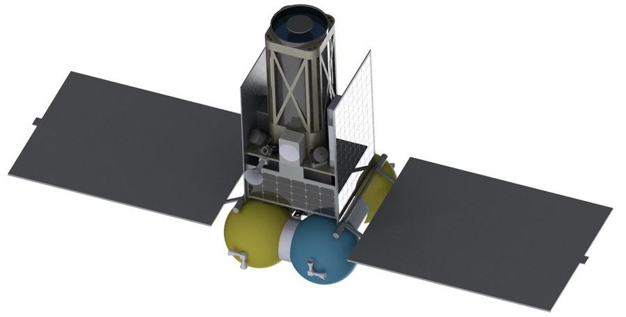 Новый проектный облик лунного микроспутника - 3
