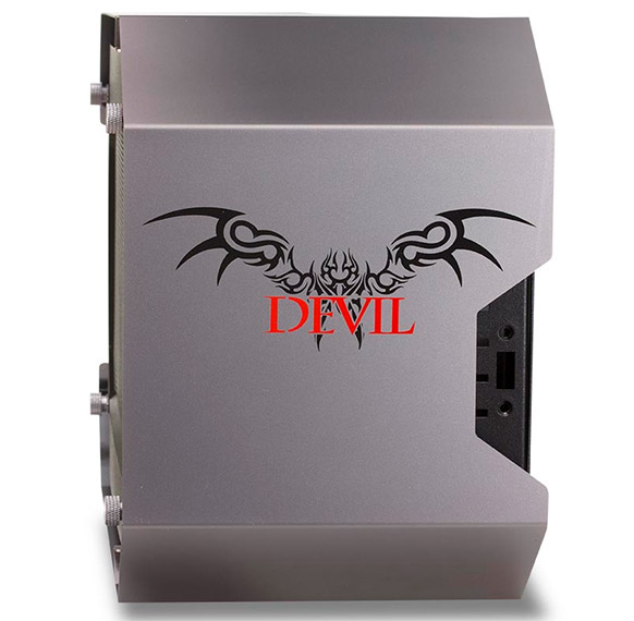 Габариты PowerColor Devil Box равны 400 x 172 x 242 мм