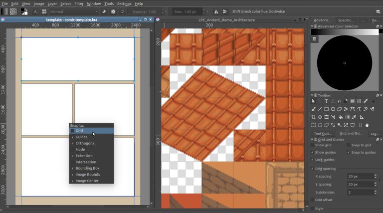 Стабильная версия редактора Krita 3.0 с поддержкой анимации - 3