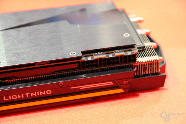 Появились фото карты  MSI GTX 1080 Lightning