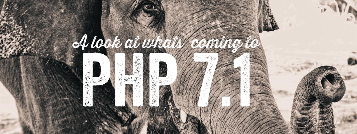 PHP 7.1: Грядущие изменения - 1