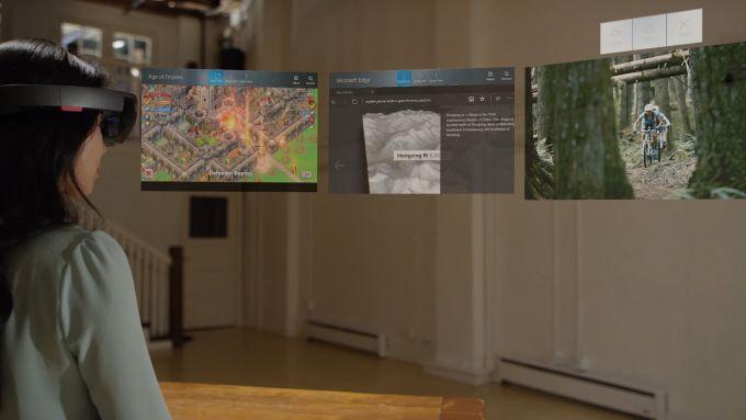 Шлем Microsoft HoloLens научился работать с мышкой