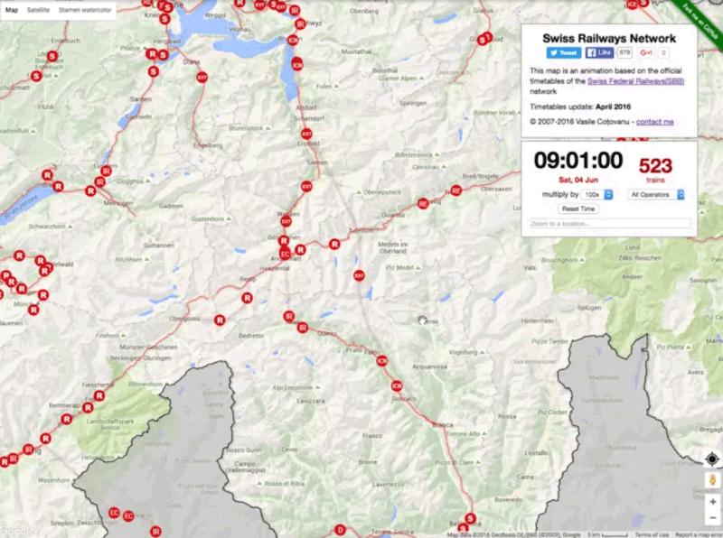 В Швейцарии открыт самый длинный в мире железнодорожный тоннель: 57 км - 13