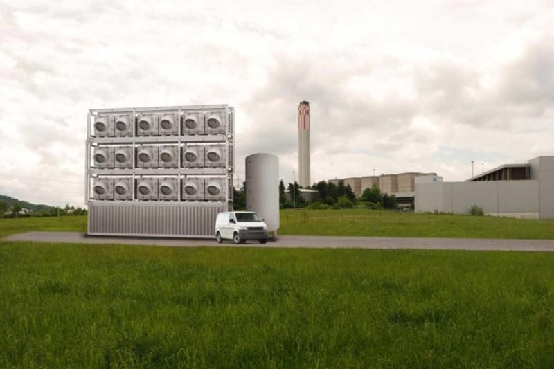 В Швейцарии запустят первый в мире завод по добыче CO₂ из атмосферы - 1