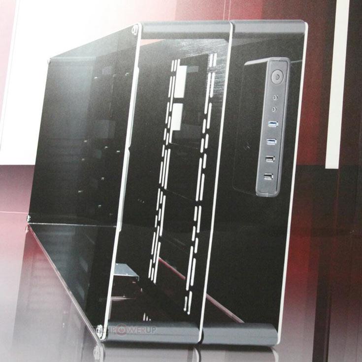 Габариты необычного изделия равны 288 x 590 x 420 мм