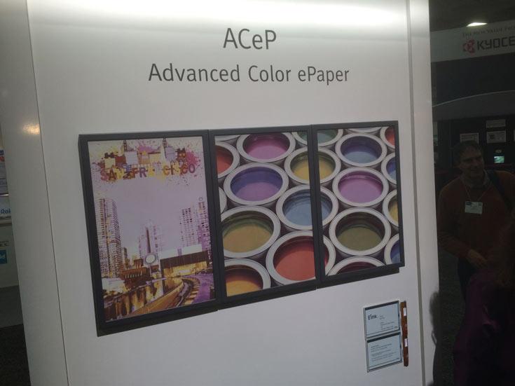 Новая технология получила название ACeP (Advanced Color ePaper)