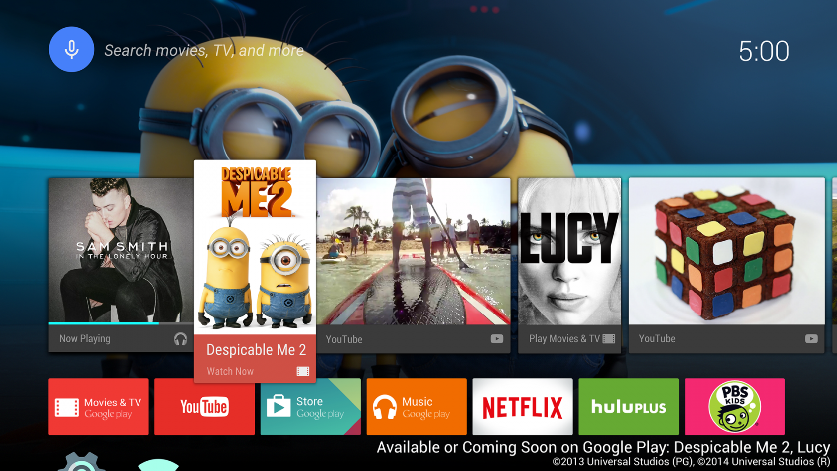 Device Lab от Google: Android TV - 8