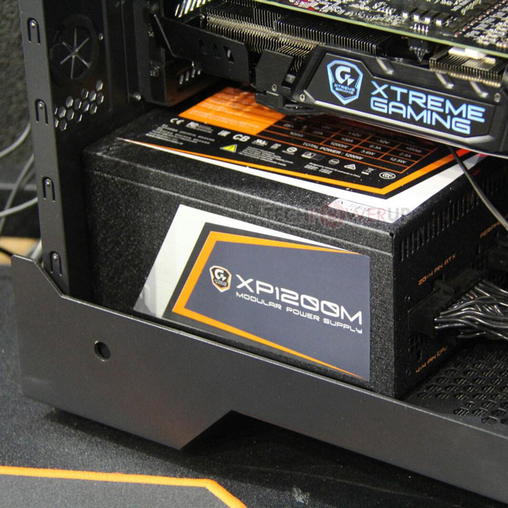 Блок питания Gigabyte Xtreme Gaming XP1200M мощностью 1200 Вт имеет сертификат 80 Plus Platinum
