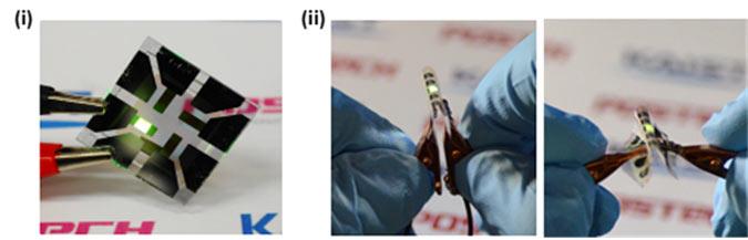 Графен помог специалистам KAIST сделать органические светодиоды гибкими и более яркими - 1