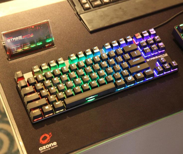 Цена клавиатуры Ozone Strike Battle Spectra пока неизвестна