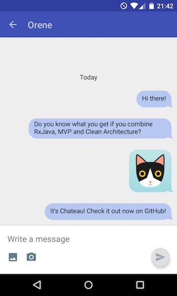Как мы разработали чат-фреймворк для Android приложения — Chateau - 1
