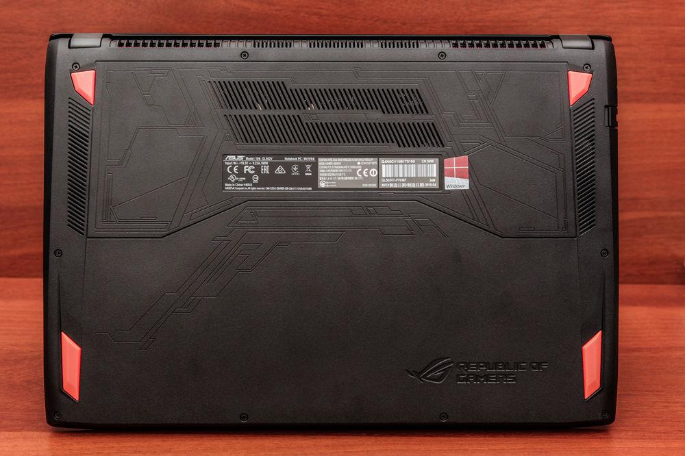 Обзор игрового ноутбука ASUS GL502VT - 13