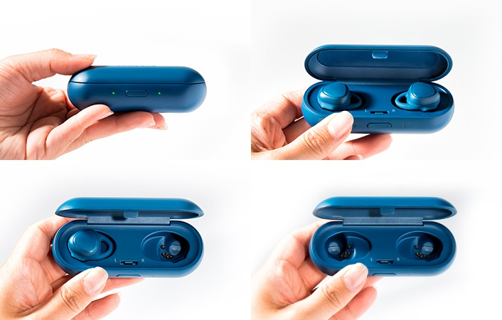 Представлены беспроводные наушники Samsung Gear IconX, оснащенные 4 ГБ флэш-памяти