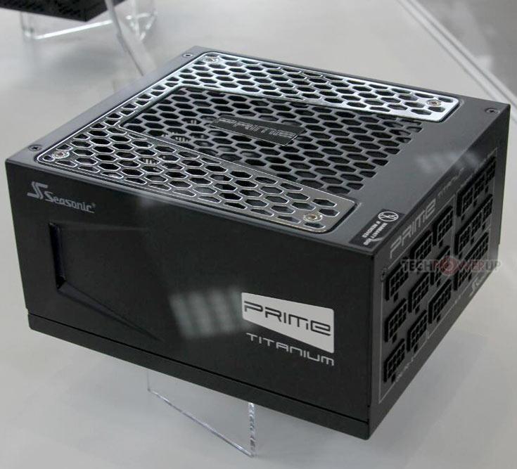 Блок питания SeaSonic Prime Titanium мощностью 850 Вт имеет модульную кабельную систему
