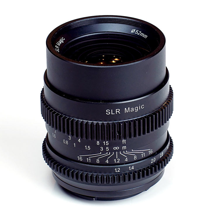 Продажи объективов SLR Magic Cine 35mm F1.2 и Cine 75mm F1.4 производитель обещает начать в августе