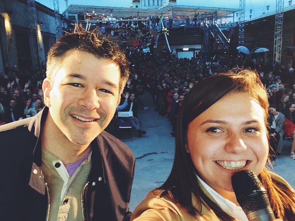 Сооснователь Uber Трэвис Каланик посетил Москву - 3