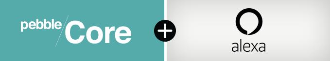 Pebble интегрирует в Core помощник Alexa