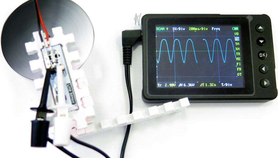 Звук из картинки. Оптический синтезатор Look Modular - 6