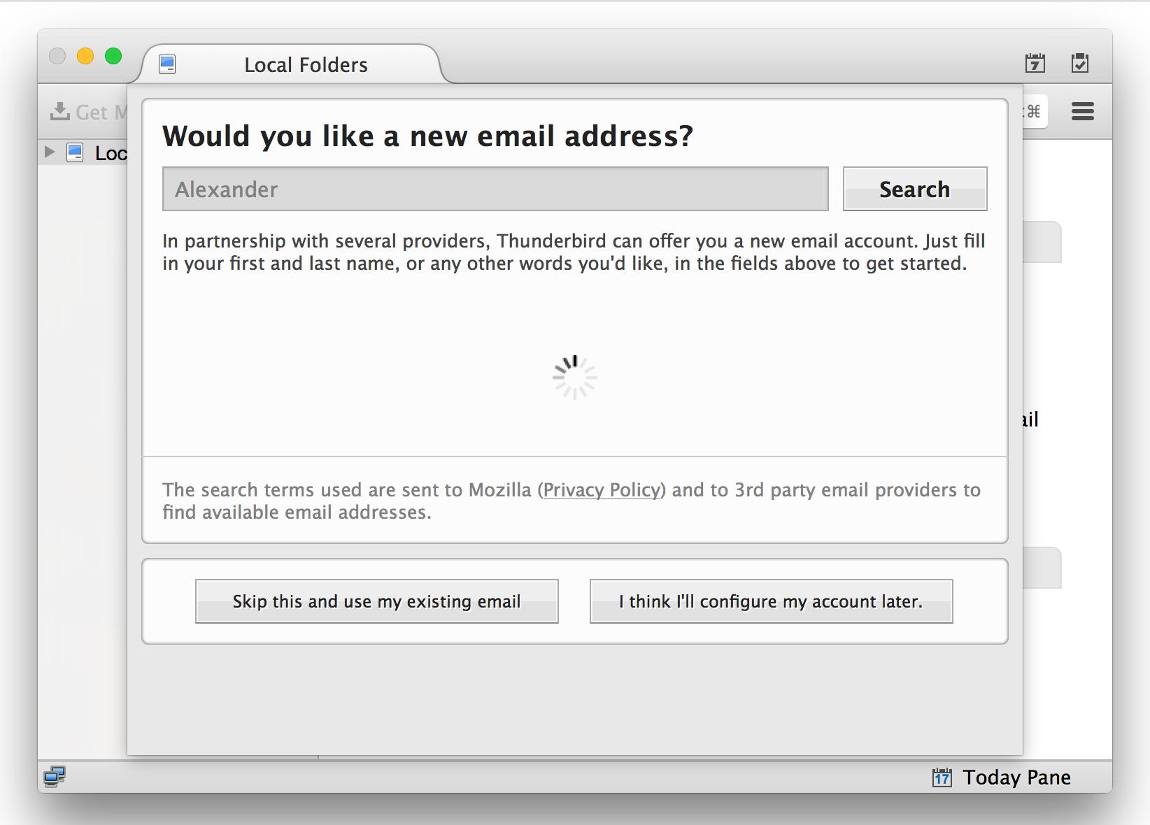 OAuth-авторизация в Mozilla Thunderbird: от зарождения до релиза - 7