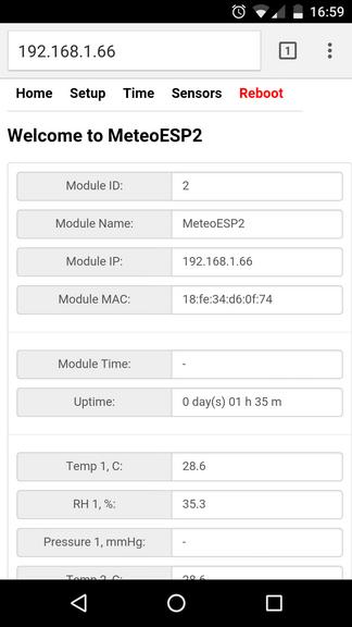 Домашняя метеостанция на esp8266 - 6