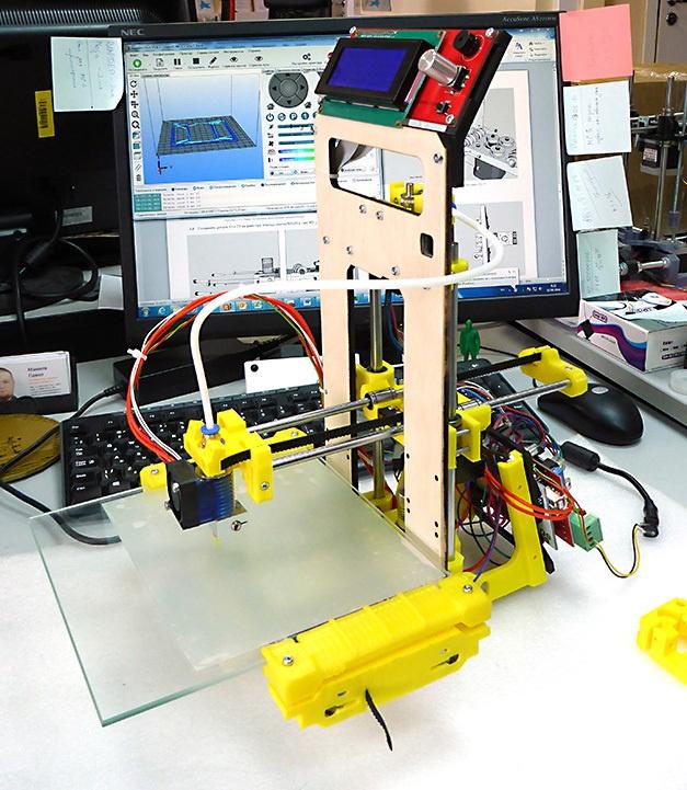 Доработка 3D-принтера MC7 Prime mini от Мастер Кит - 6