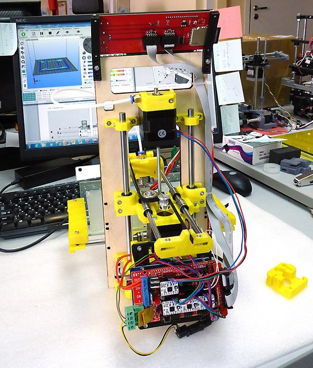 Доработка 3D-принтера MC7 Prime mini от Мастер Кит - 7