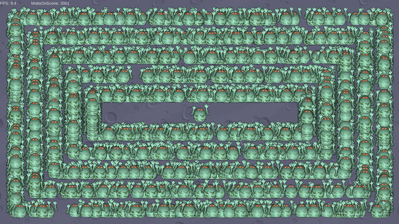 Unity3D Ускорить отрисовку 2D анимации в разы? Легко - 6