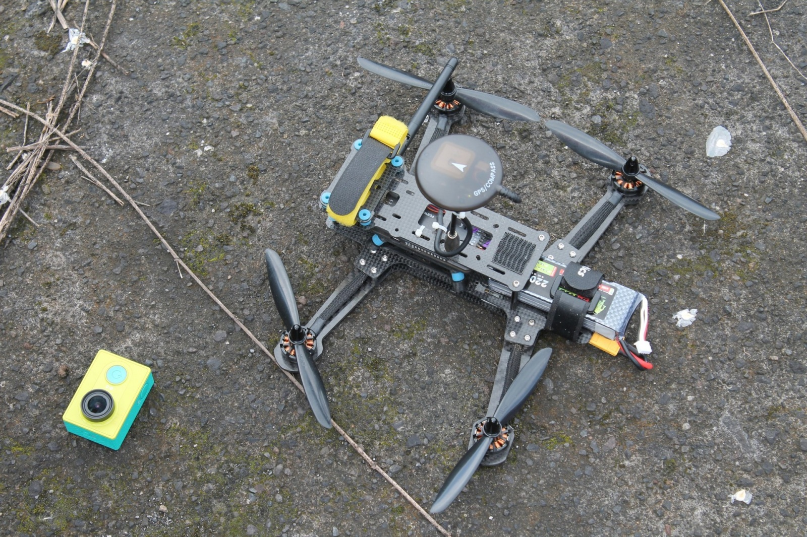 Автономный квадрокоптер 280мм для съемки с воздуха - 8