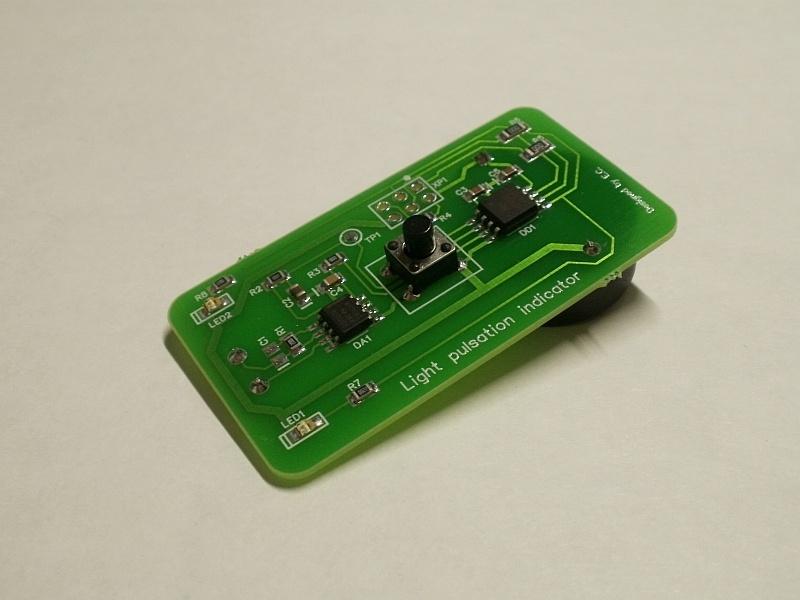 Брелок для экспресс-оценки коэффициента пульсаций энергосберегающих ламп - 1